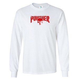 Men's The Punisher T-Shirt Long Sleeve